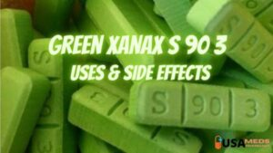 green xanax bars