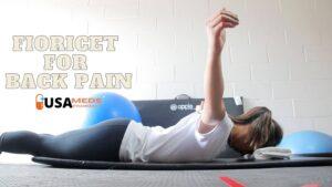 fioricet for back pain